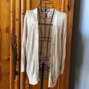 LOFT light cardigan